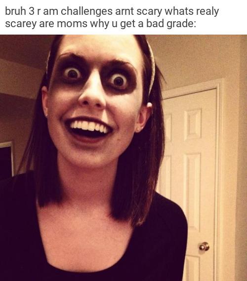 scary mum - meme