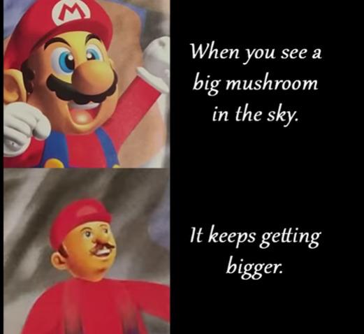 mushroom - meme
