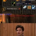 We've all done it as hunters on WoW with one item or another