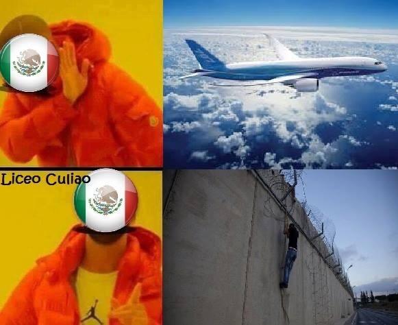 el titulo salto el muro - meme