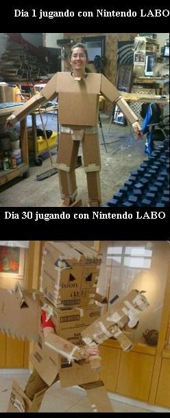 Nintendo LABO - meme