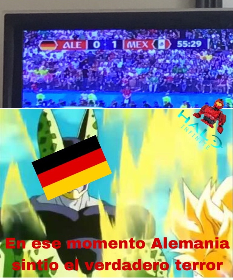 Alemania vs Mexico - meme