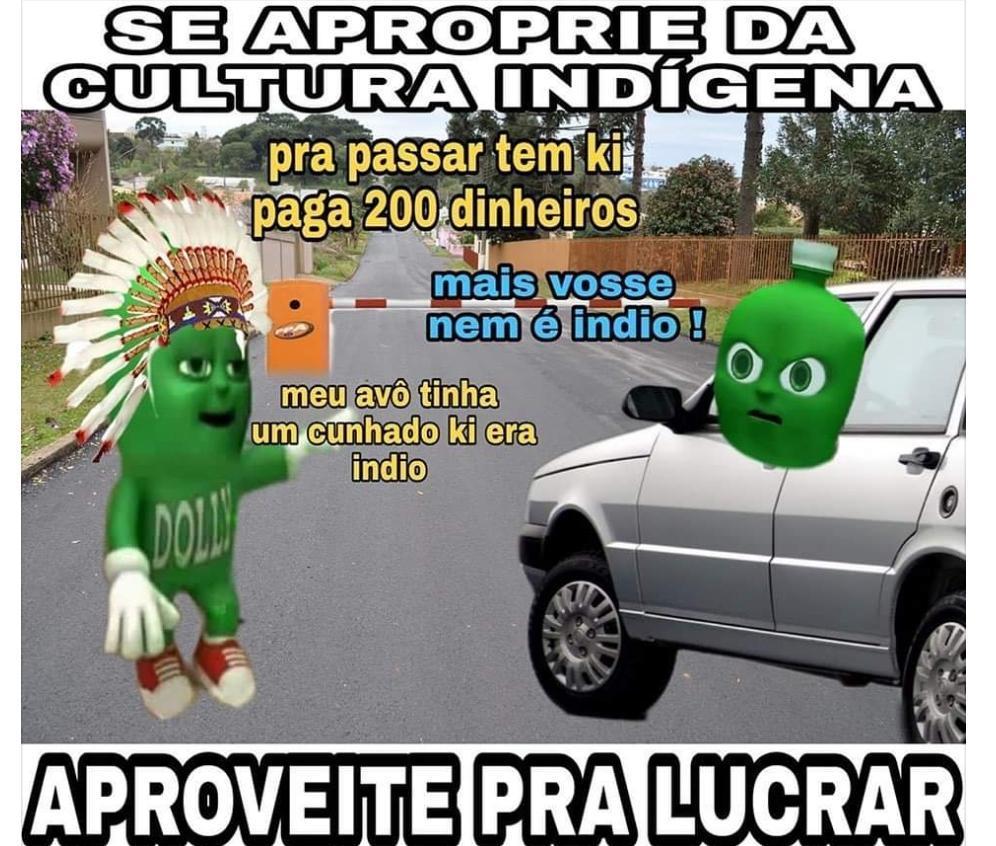 Índio de Hilux - meme