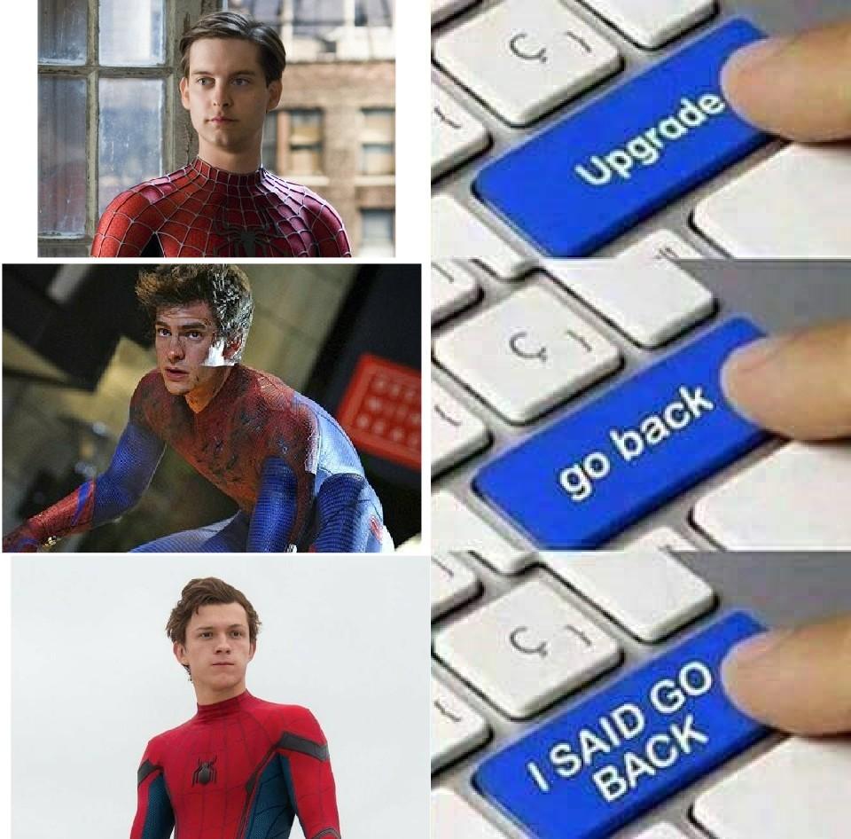 Que vuelva tobey - meme