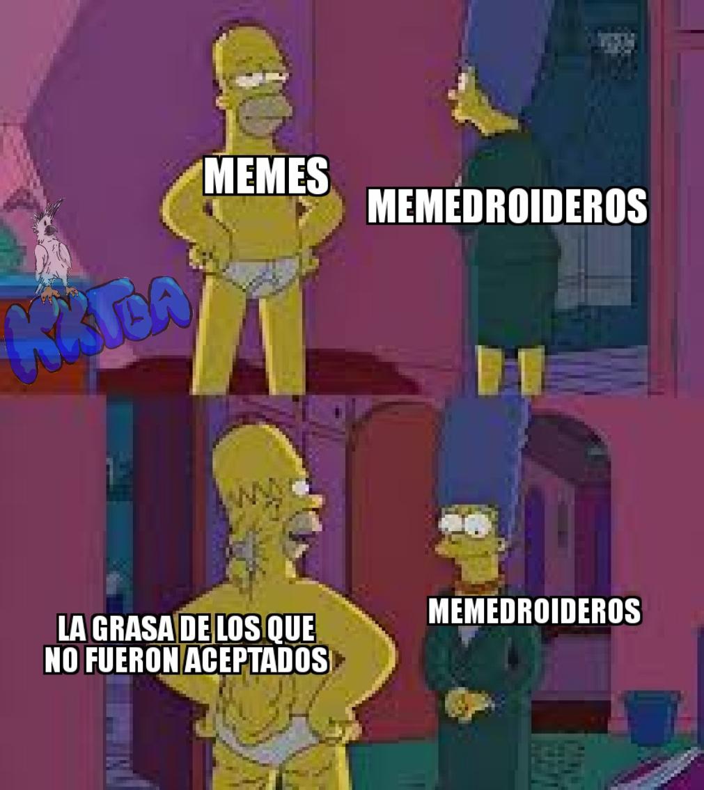 En caso de que no sirva el otro, tengo este - meme