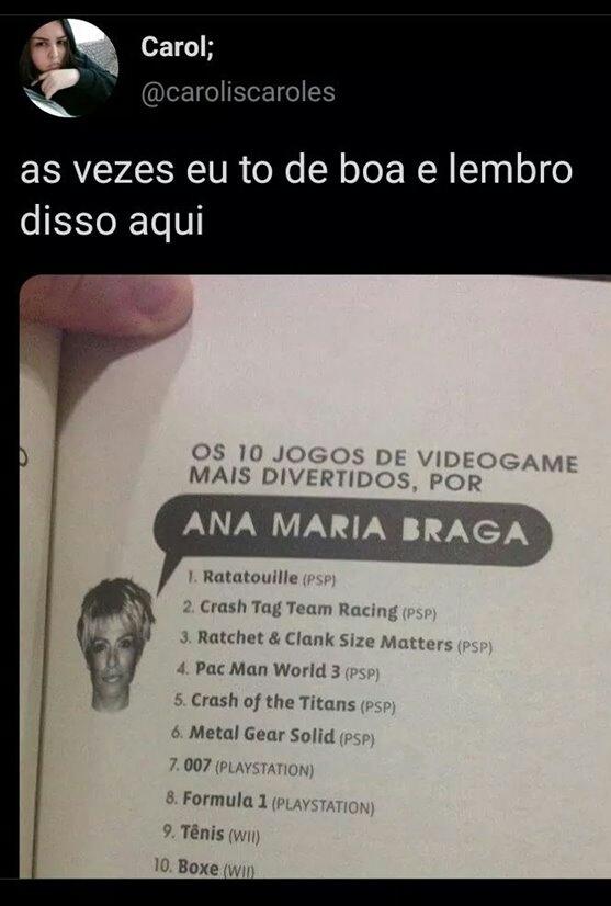 Ana maria games - meme