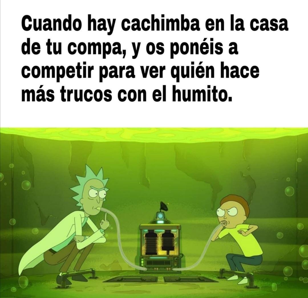 Rick y Morty - meme
