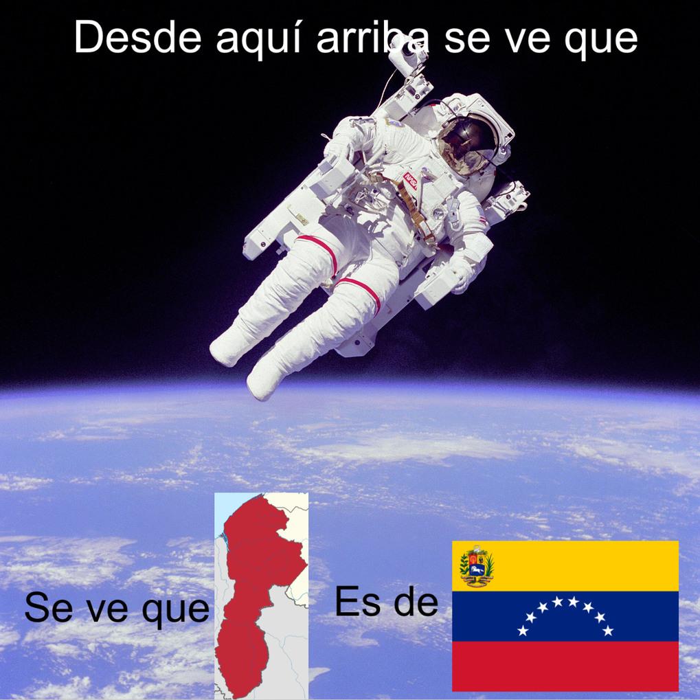 Guyana Esequibo es de Venezuela, Carajo! - meme