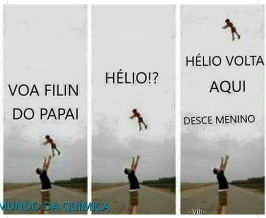 Hélio morreu - meme