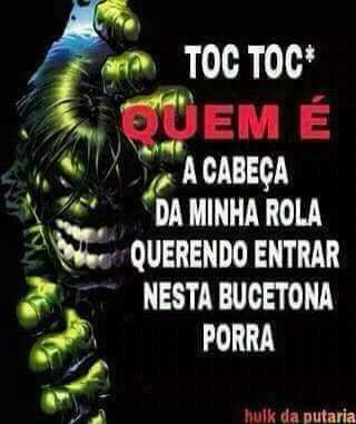 Hulk do zap mandou o recado - meme
