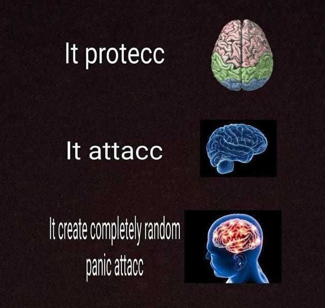 Panic attack - meme