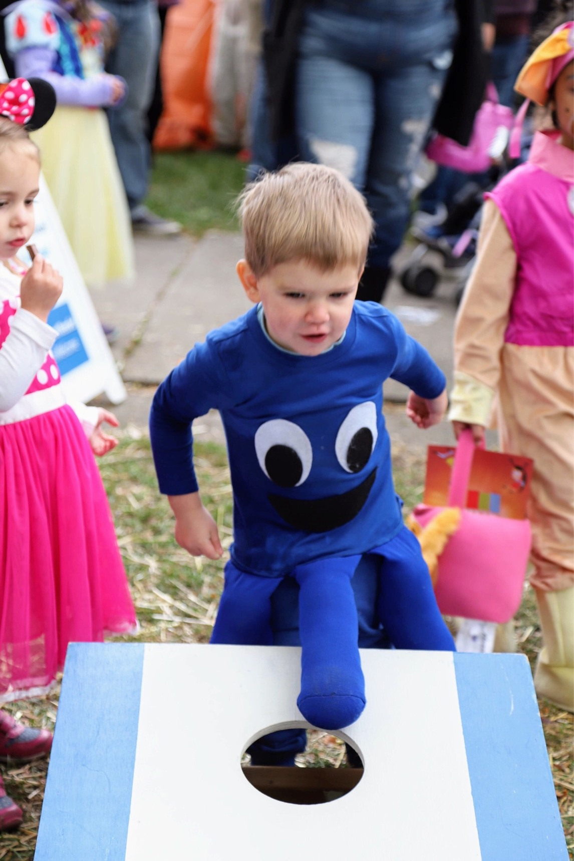 When your little brothers Octopus costume has a glitch. - meme