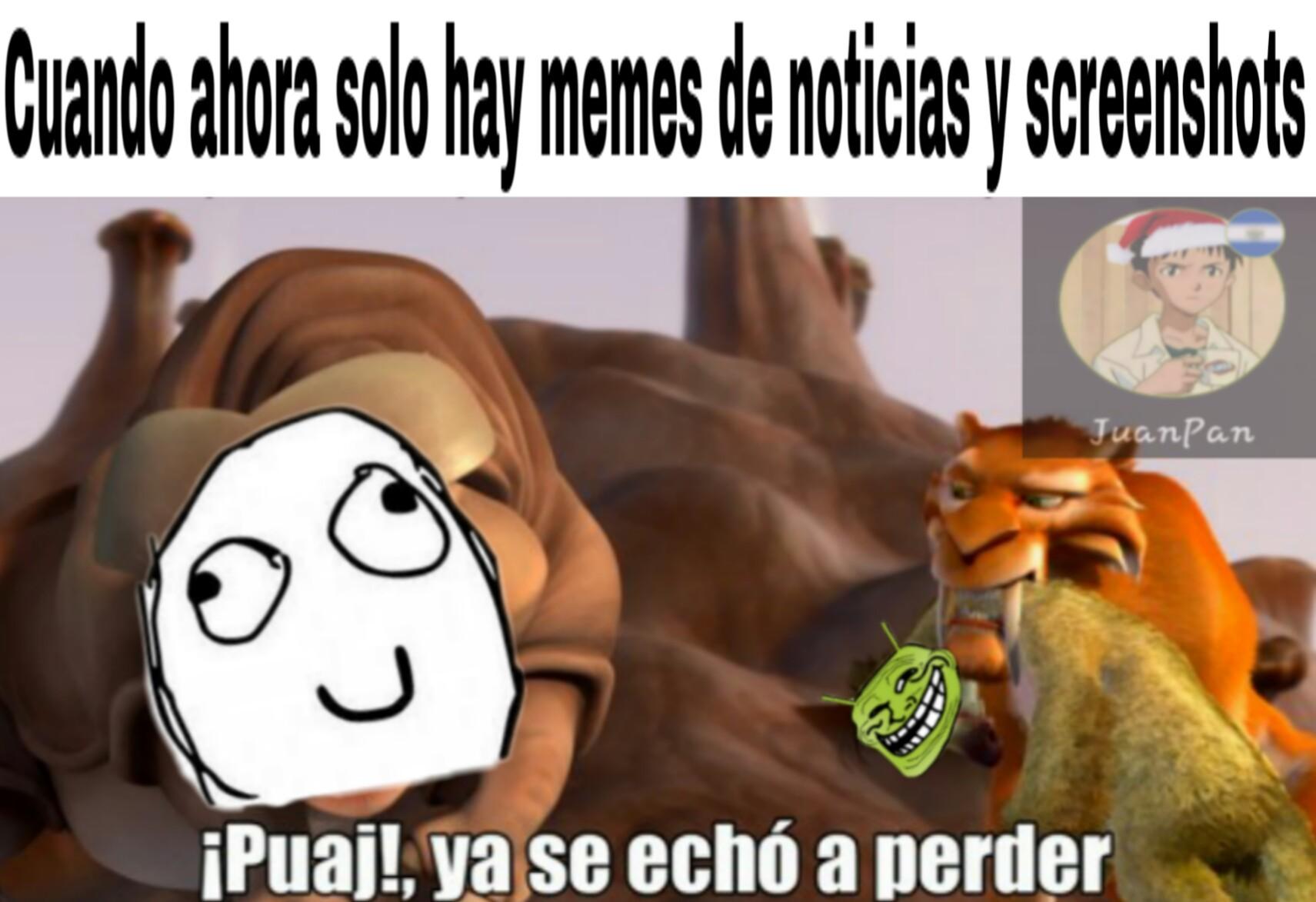Meme cliché sin gracia