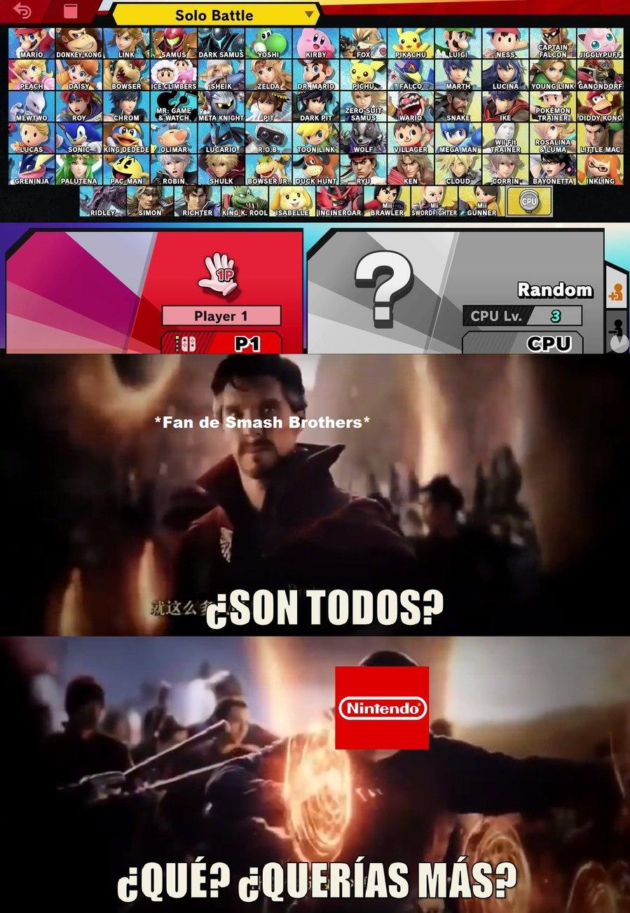 Seh, faltan los DLC.. - meme