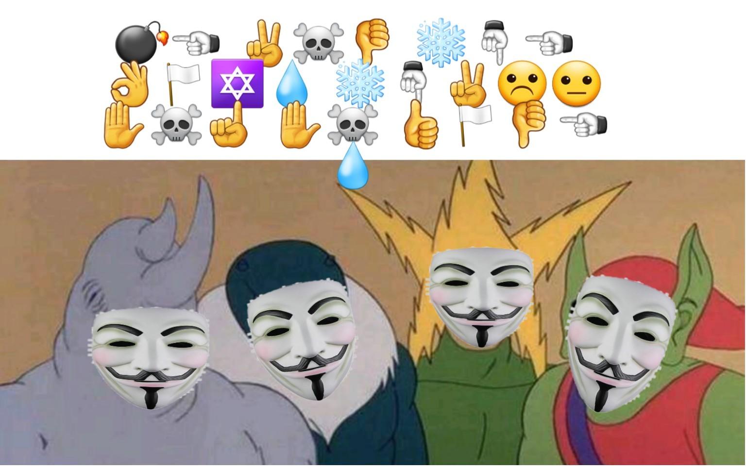 Yo y los chicos cuando hablalos en códigos - meme