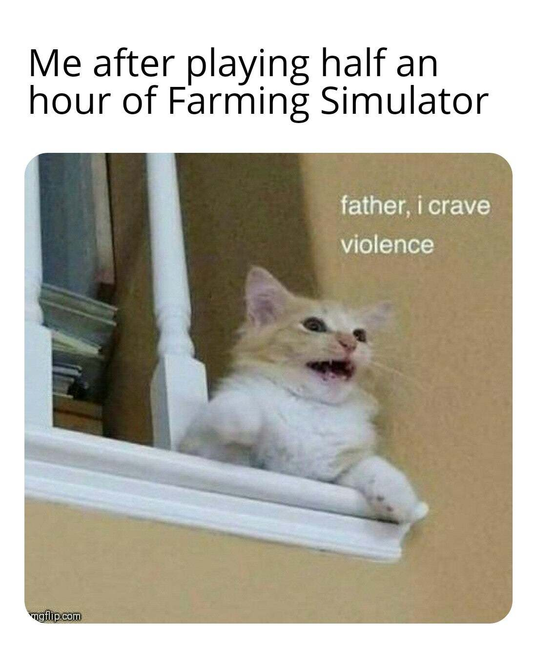 Video game violence is affecting everyone - meme