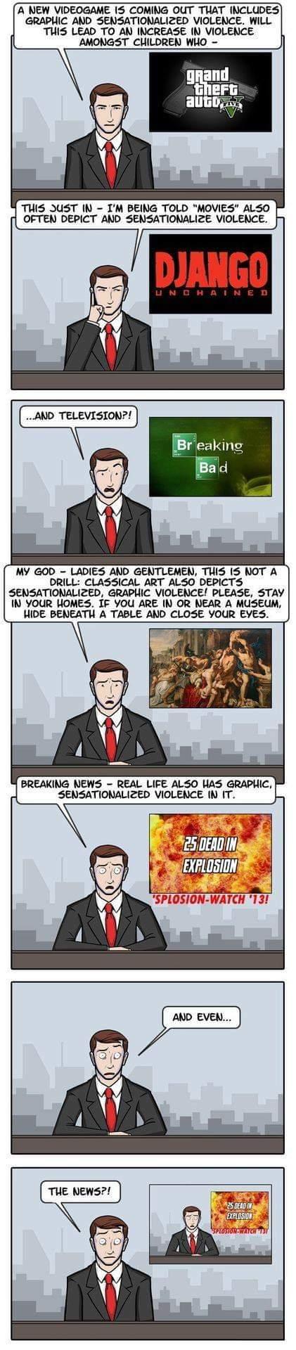 La suite logique des évènements - meme