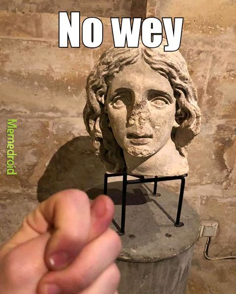 No wey - meme