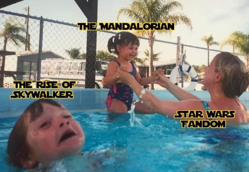 The Mandalorian > Star Wars 9 - meme