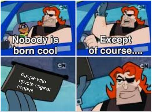 Never Repost - meme