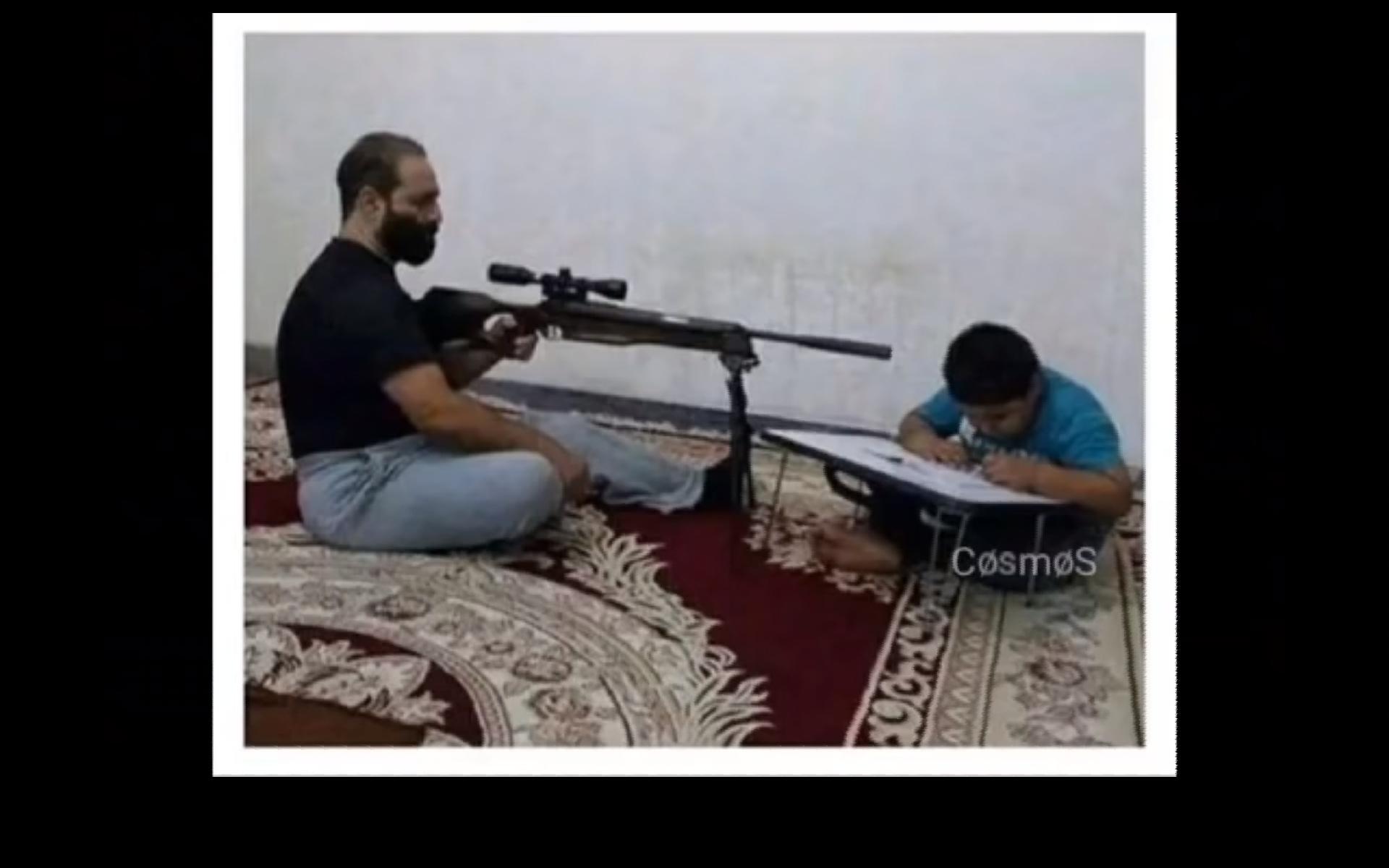 Quand une marocaine aide ses au devoir - meme