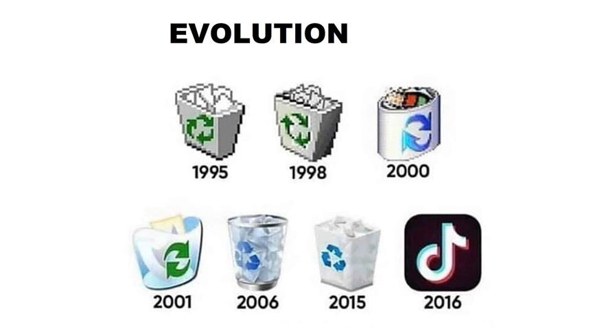 Evolution - meme