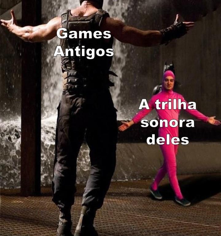 O jogo era feito pelos bárbaros e a trilha sonora era feita por druidas. - meme