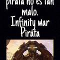 Infinity war Pirata