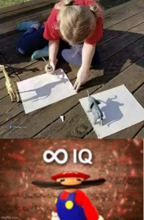 infinite IQ - meme
