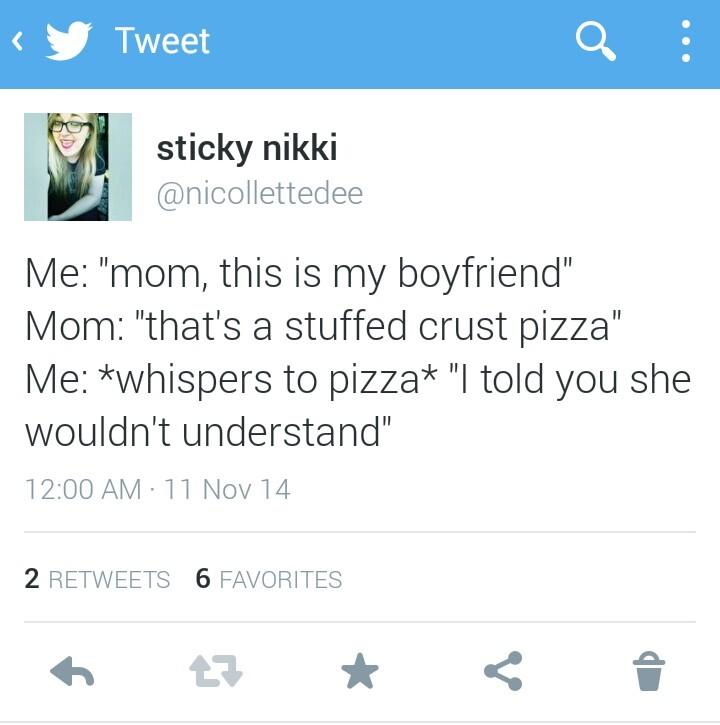 I'll stuff your crust - meme