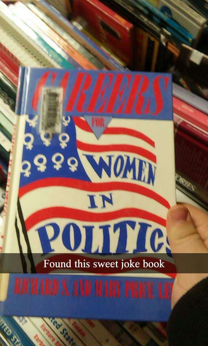 Pfft women in politics - meme