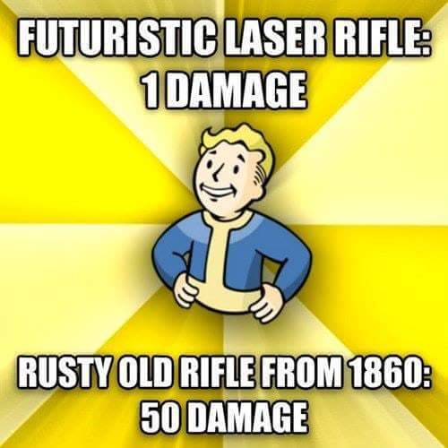 Fallout logic 5000 - meme