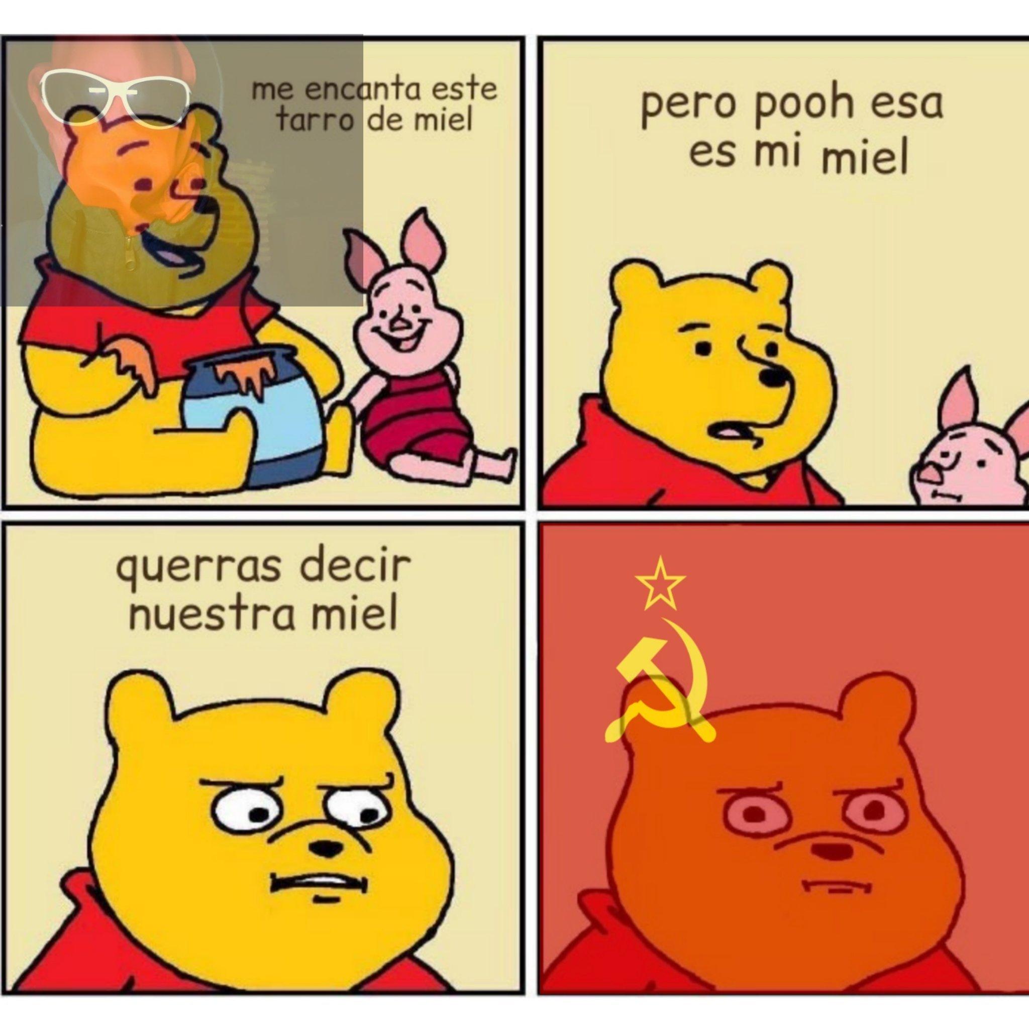 Pooh es comunista - meme