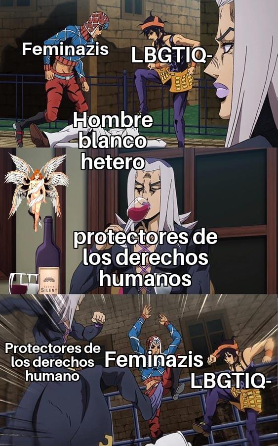 Malditos progres - meme