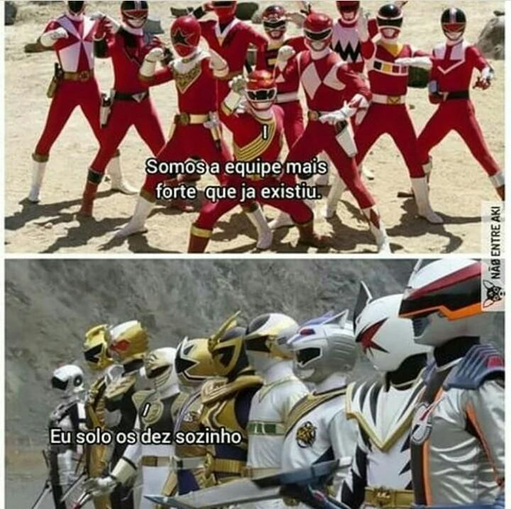 Go Go Go Power Rangers - meme
