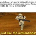 just like the simulations