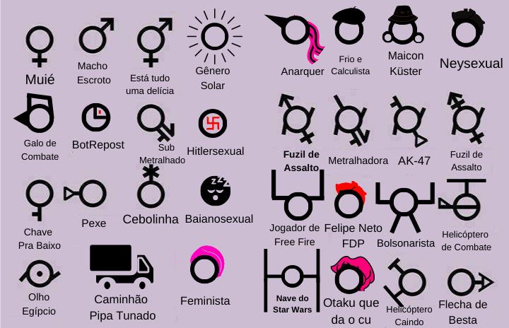 Com que gênero vcs se identificam? (Trabalho pra editar saporra sifude) - meme