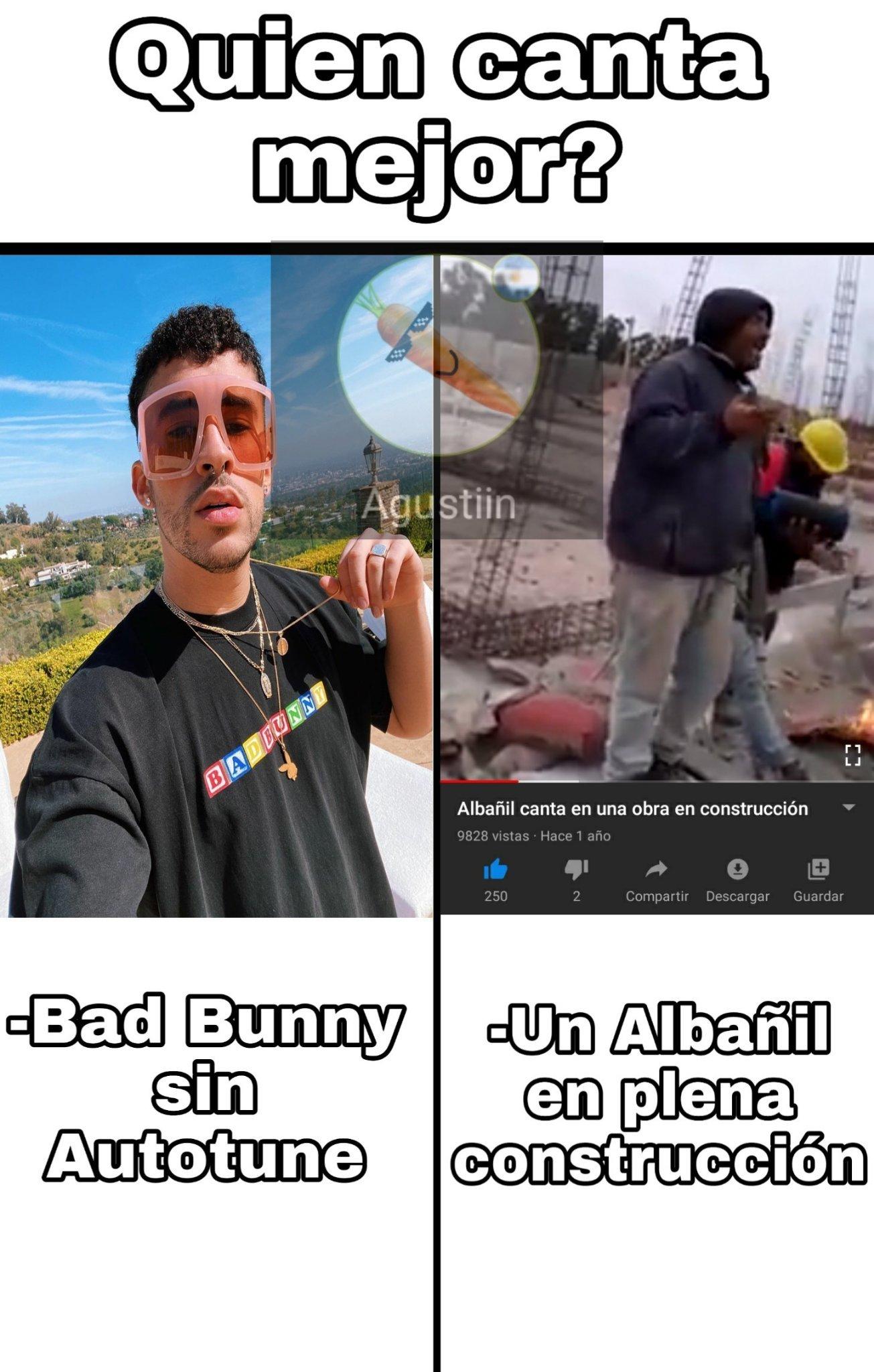 Un capo el albañil - meme