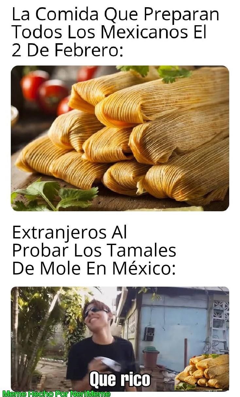 Meme: Así Son Los De América Del Norte El 2 De Febrero