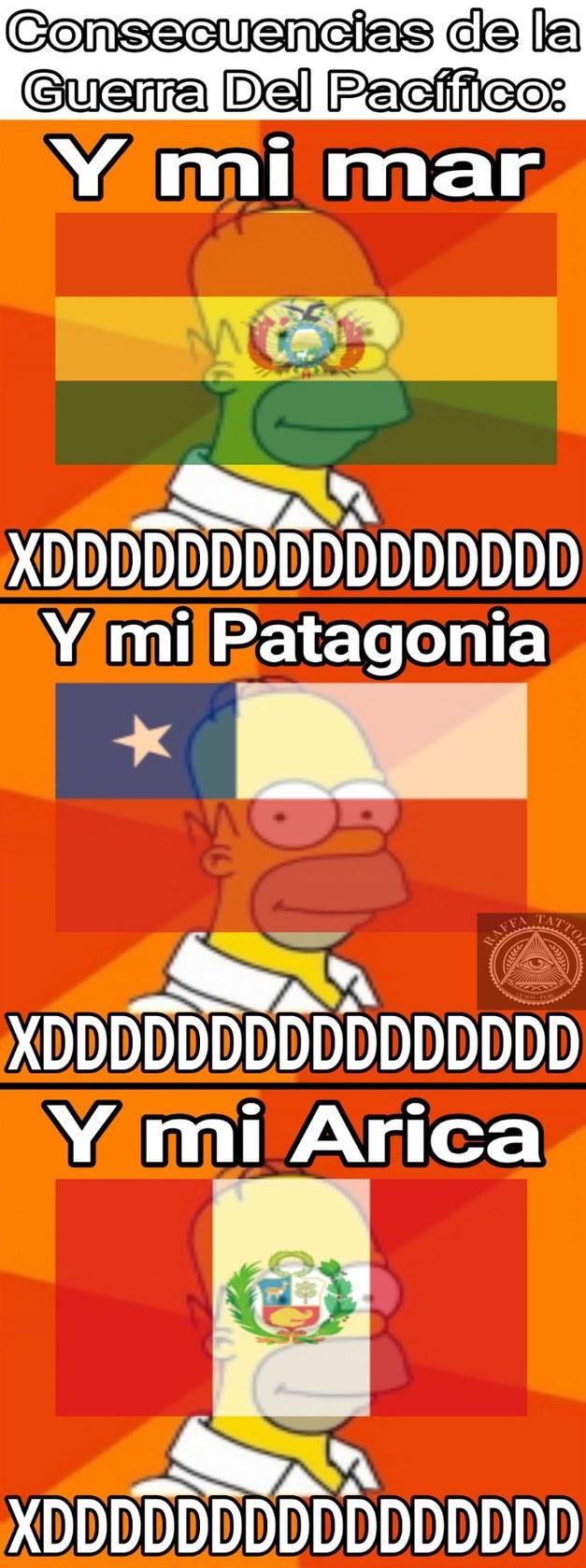Y mi Arica? XDDDDDDDDDDDDDDDD - meme