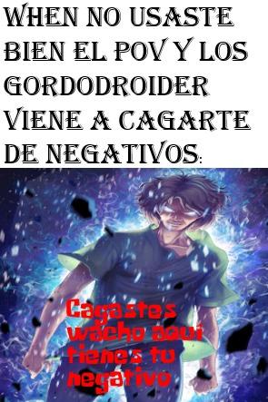 Pinches Gordodroider - meme
