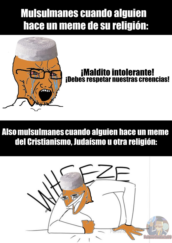 En sí la mayoría de religiosos son idiotas e hipócritas - meme