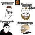 Primer meme Zoomer, Coomer, Doomer y Chad