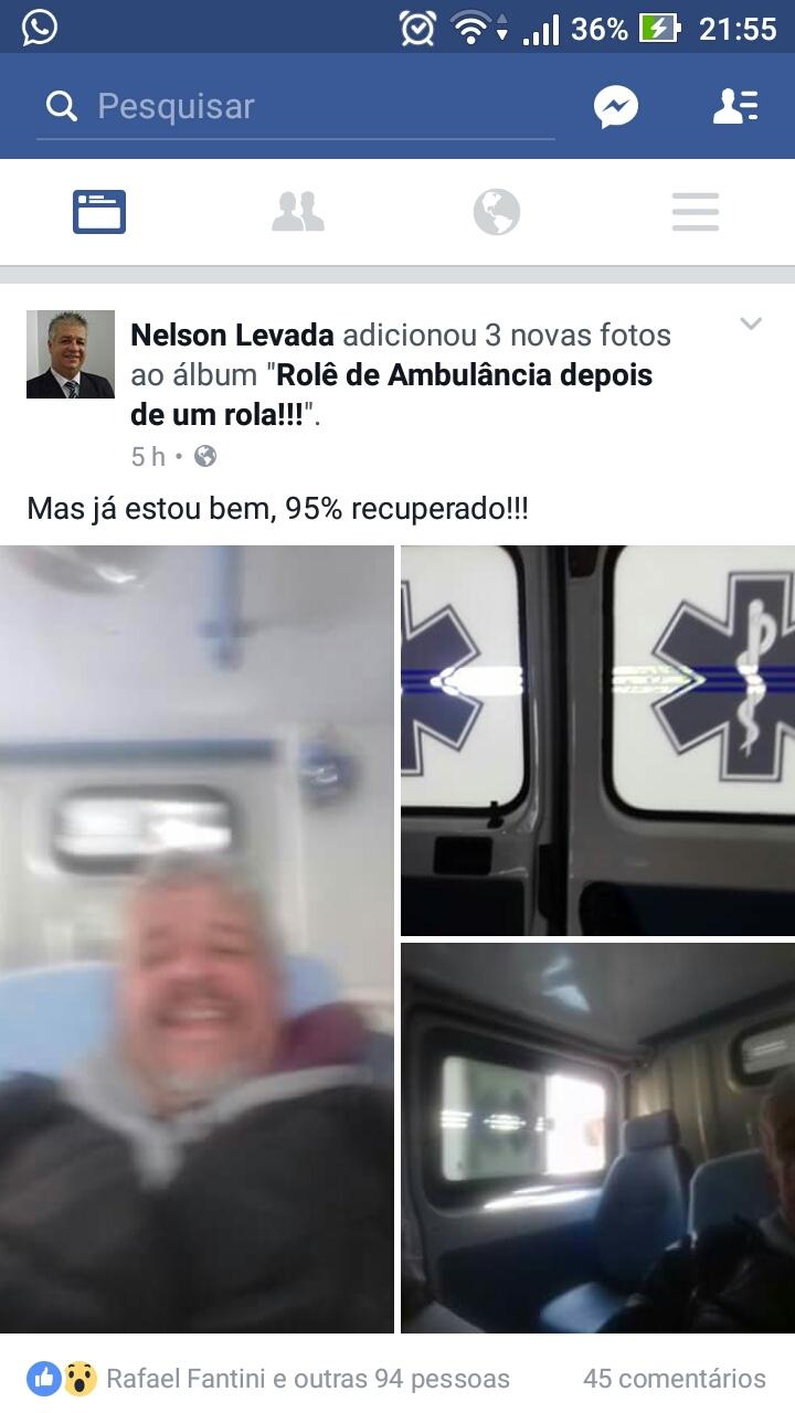 Role de ambulancia dps de um rola'-' - meme