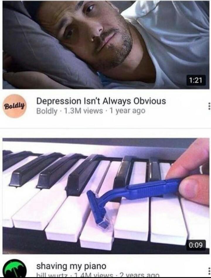 Se balader sur youtube et trouver ça... - meme