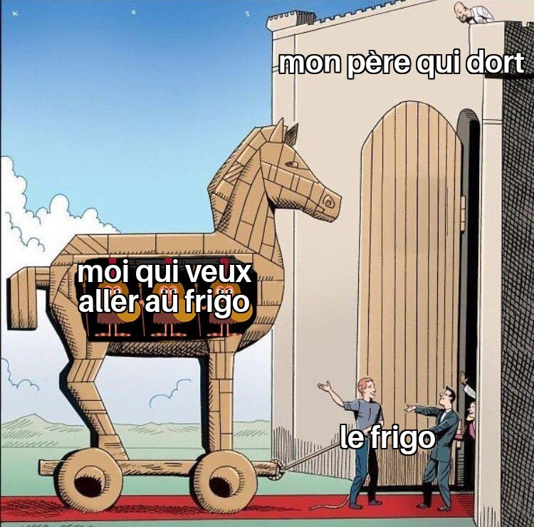 Le frigo - meme