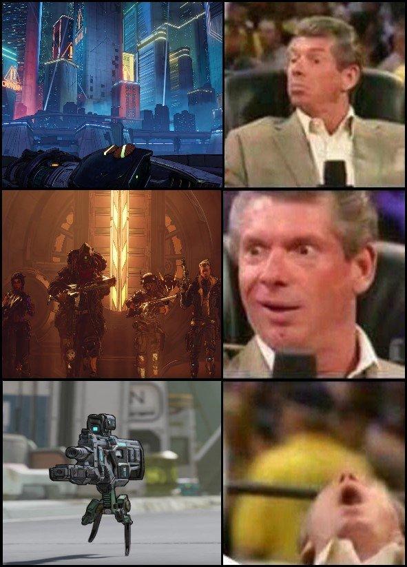 My reaction to Borderlands 3 - meme