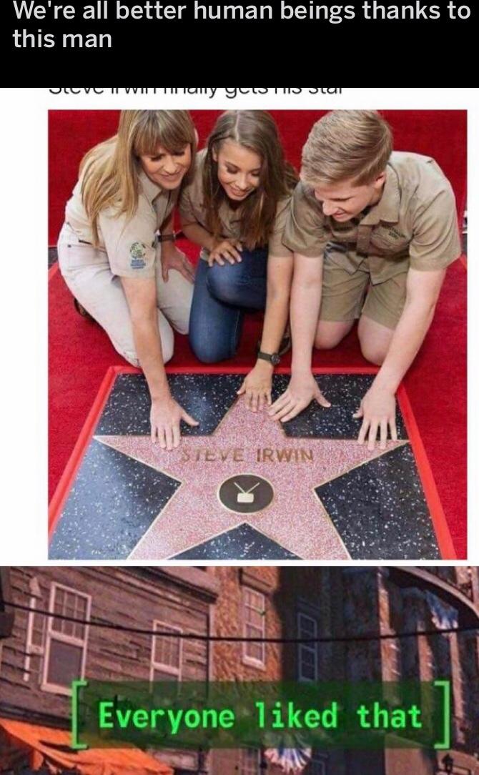 Steve irwin - meme