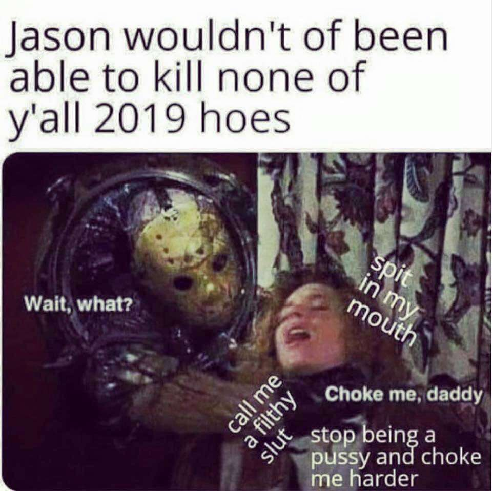 With a spoon - meme