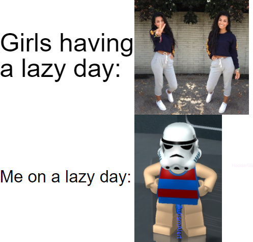 Lazy Days - meme